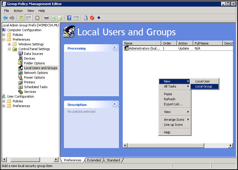 view User-centered
