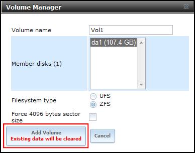 Freenas shared storage vmware certified