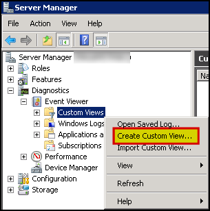 Create a Custom View in Event Viewer to show Reboot Events