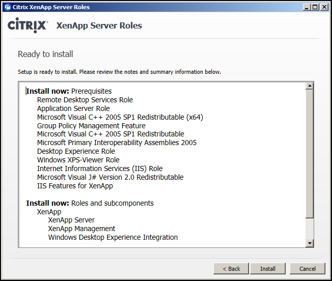 Installing Amp Configuring Xenapp 6 5 Tfindingsolutions